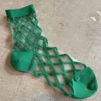 East End Highlanders (Transparent Mesh Socks)グリーン