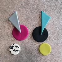 color design workshop12参加者様専用フォームsankaku×maru 両耳セット