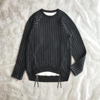MOUN TEN. stripe quilt long sleeve 1size