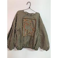 UNIONINI cat blouse 6-8y