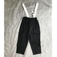 folk made suspenders pants  L size