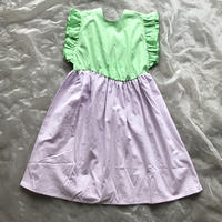 frankygrow BACK SHAN RIBBON DRESS DYED L size