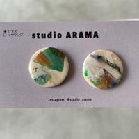 studio ARAMA  アートミニピアス