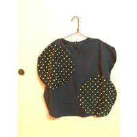 frankygrow BONBON CUT JQ  BIG  DOTS  PULLOVER