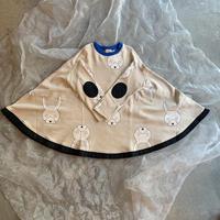 frankygrow  TOTAL HANDLE PONCHO SWEAT DRESS  L size