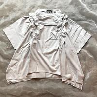 nunuforme シャーリングTシャツレディースsize