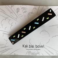 kai bai bow!  ピチピチビーズ  ヘアクリップ