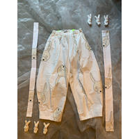 frankygrow  TOTAL HANDLE SUSPENDER PANTS  L size