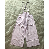 frankygrow AIRY WIDE OVERALLS DYED LL size