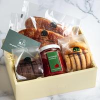 季節のコンフィチュール(すもも)と焼菓子