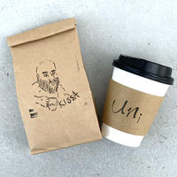 uni coffee beans 【KISSA】240g