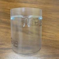 【10セット】メガネ型支持具(10個) フェイスシールド(10枚)