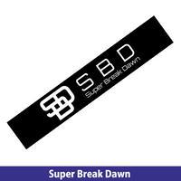 Super Breake Dawn  マフラータオル(黒)