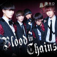 Super Break Dawn 2nd Single 「Blood in Chains」TYPE-B