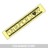FUN RUMOR STORY 黄色タオル