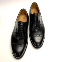 19.01 Rejected Tricker's / Black / Adelaide Oxford / Leather  Sole / Size 7H