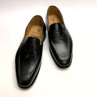 19.27 Rejected Tricker's / Black / Loafers / Leather  Sole / Size 8