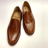 19.17 Rejected Tricker's / Brown / Loafers / Leather  Sole / Size 8