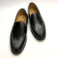 19.26 Rejected Tricker's / Black / Loafers / Leather  Sole / Size 8