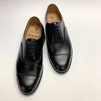19.04 Rejected Tricker's / Black / Cap Toe Oxford / Leather  Sole / Size 6-4Fitting