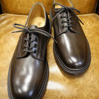 18.67 Rejected Tricker's / Brown / Plain Toe Shoes / Leather W Sole / Size 7 half