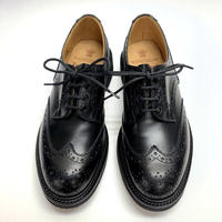 19.51 Rejected Tricker's / Black / Country Shoes / Gumlite W Sole / Size 7H