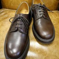 18.72 Rejected Tricker's / Brown / Plain Toe Shoes / Dainite W Sole
