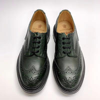 19.47 Rejected Tricker's / Green / Country Shoes / Commando W Sole / Size 6H