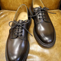 18.66 Rejected Tricker's / Brown / Plain Toe Shoes / Dainite W Sole