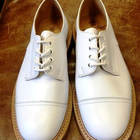 17.21 Rejected Tricker's / White / Cap Country Shoes / Leather W Sole / Size 7