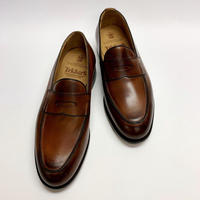 19.19 Rejected Tricker's / Brown Burnish / Loafers / Leather  Sole / Size 8H