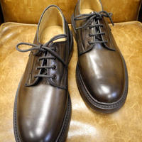 18.68 Rejected Tricker's / Brown / Plain Toe Shoes / Dainite W Sole / Size 8 half
