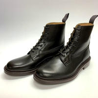 19.61 Rejected Tricker's / Dark Brown / Plain Toe Country Boots / Dainite W Sole / Size 8