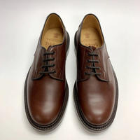 19.55 Rejected Tricker's / Brown / Plain Toe Country Shoes / Dainite W Sole / Size 8