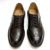 19.48 Rejected Tricker's / Dark Brown / Country Shoes / Leather W Sole / Size 8