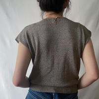 lace summer knit brown