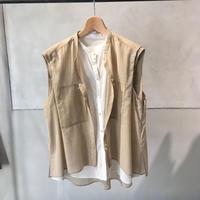 Rito Double Layred Sheer Shirt