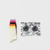 safe socks (black / white)