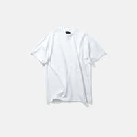 ATON | SUVIN AIR SPINNING | OVERSIZED T-SHIRT | WHITE