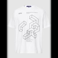 Spin タイポグラフィープリント Tシャツ
