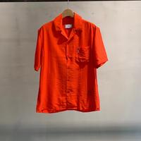 オープンカラーシャツ /red