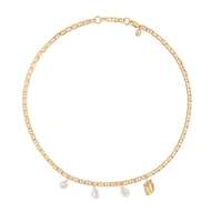 Crew Necklace Gold