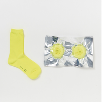 safe socks yellow