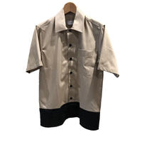 AMI Alexandre Mattiussi - Color Block Shirt BE/NO