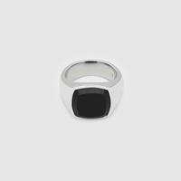 TOMWOOD/Shelby Ring Polished Black Onyx#60