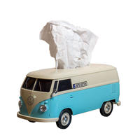 Volks Wagen Bus - Tissue Box Plus  Limited Two Tone Coler