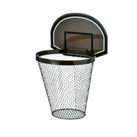 <小型>Basket Goal Trash Box