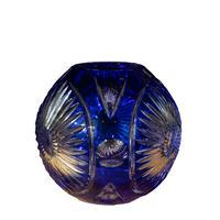 <小型>Polonia Crystal Glass Flower Vase