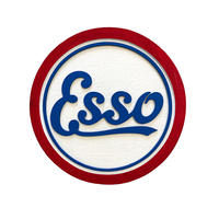 <小型>Esso Wood Sign