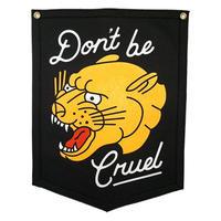<小型>Oxford Pennant - DON'T BE CRUEL CAMP FLAG